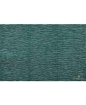 Krepinis popierius 50 cm x 2,5 m, 180 g/m² , tamsiai žalia (560)