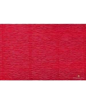 Krepinis popierius 50 cm x 2,5 m, 180 g/m², karmino raudona (586)