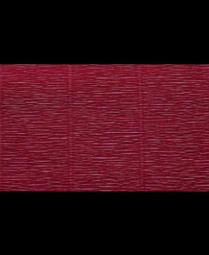 Krepinis popierius 50 cm x 2,5 m, 180 g/m², tamsi bordo (588)