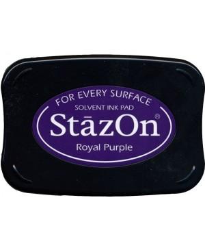 Permanentinė rašalo pagalvėlė StazOn Royal Purple