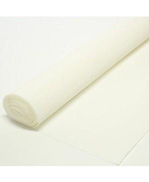 Krepinis popierius 50 cm x 2,5 m, 180 g/m² , balta (600)