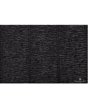 Krepinis popierius 50 cm x 2,5 m, 180 g/m², juoda (602)
