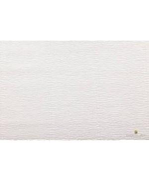 Krepinis popierius 50 cm x 2,5 m, 180 g/m², balta kreminė (603)
