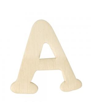 Medinė raidė 4cm, A