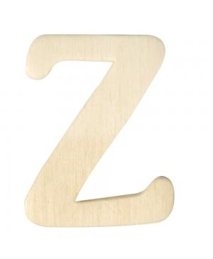 Medinė raidė 4cm, Z