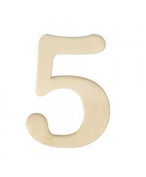 Medinis skaičius 4cm, 5