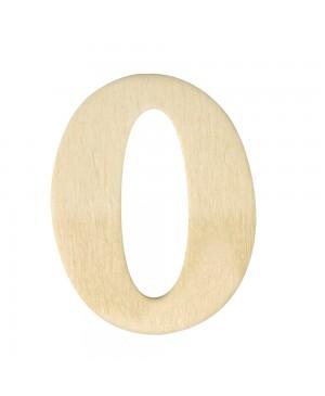 Medinis skaičius 4cm, 0