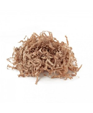 Popierinės drožlės kraft rudos  sp. 100 g.