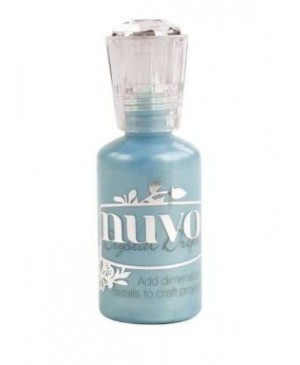 Skysti perlai Tonic Nuvo Crystal Drops - Wedgewood Blue