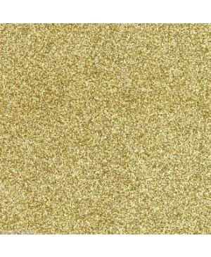 Skrebinimo popierius su blizgučiais 30,5x30,5cm 200 g/m², Renesanso auksas