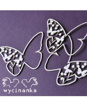 Kartono formelė Butterflies, 3vnt.