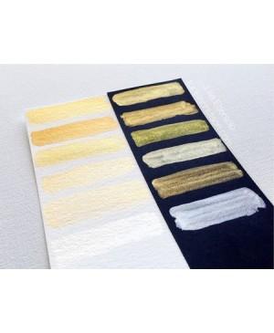 Akvarelė Gansai Tambi, papildymas, aukso spalvos