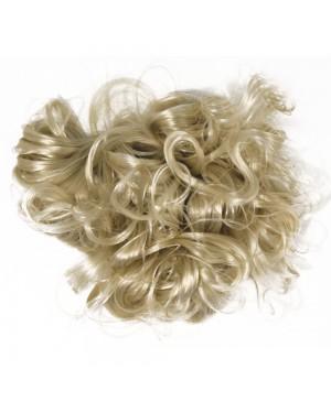 Plaukai lėlių gamybai, šviesūs, 30g