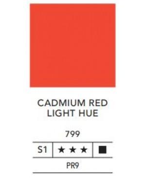Aliejiniai dažai LB Fine 40ml 799 cadmium red light