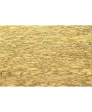 Krepinis popierius 50 cm x 2,5 m, 180 g/m², blizgus geltono aukso (801) - Yellow Gold