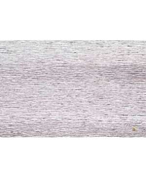Krepinis popierius 50 cm x 2,5 m, 180 g/m², blizgus sidabro (802) - Metalized Silver