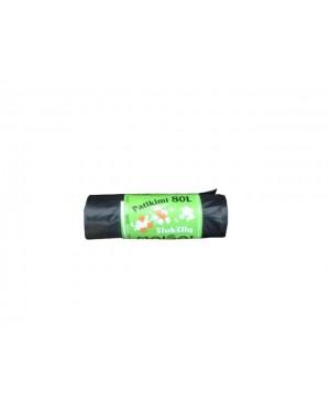 Maišai šiukšlėms LDPE Patikimi 80 l , 10vnt rulonėlyje