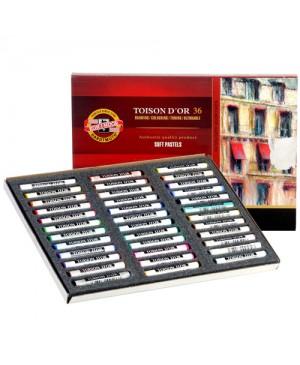 Spalvotos sausos pastelės rinkinys Koh-I-Noor, 36 spalvų