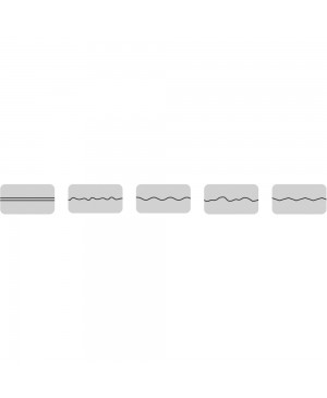 Figūriniai ašmenys Rayher pjaustyklei, 5 skirtigi pjovimo būdai