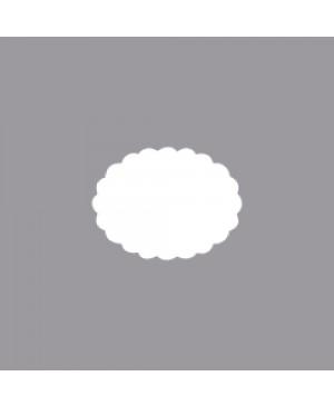 Skylamušis Ovalas banguotais kraštais 3.81cm