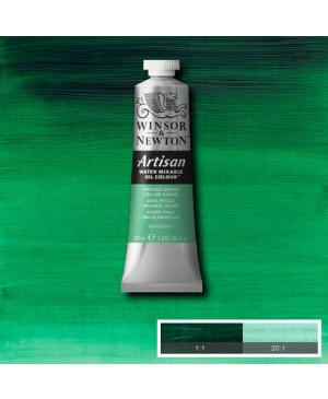 Aliejiniai dažai Artisan 37ml 521 phthalo green (yellow shade)