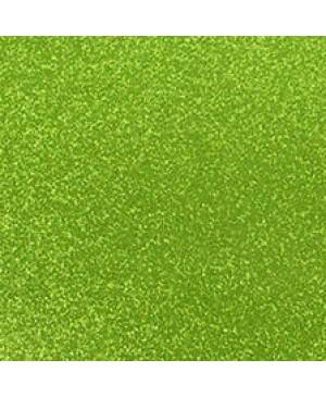 Popierius dekoratyvinis su blizgučiais A4, šviesi žalia (23)