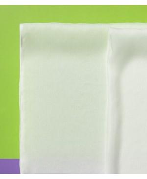 Šilko skarelė Chiffon 4.5, balta 55x55 cm