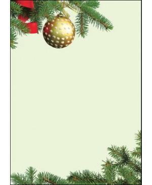 Diplominis popierius Eglutė (Choinka), A4, 100 g/m² , 1 lapas