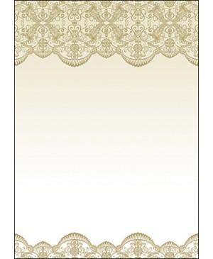 Diplominis popierius Nėriniai (Koronka), A4, 100 g/m² , 1 lapas