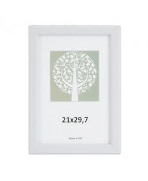 Plastikinis rėmelis Aura baltos sp. 21x29.7 cm