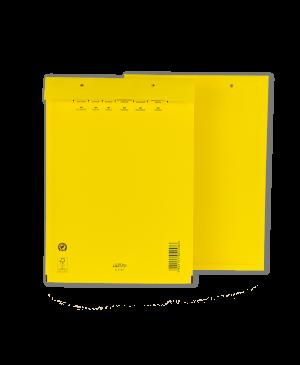 Vokas su apsaugine burbuline plėvele, 180x265mm 14/D, geltonos sp.