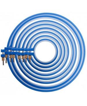 Plastikinis lankelis siuvinėjimui Cose,10 cm diametro