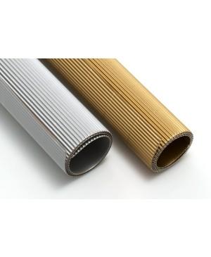 Gofruotas kartonas  50x70cm (61), sidabro sp.
