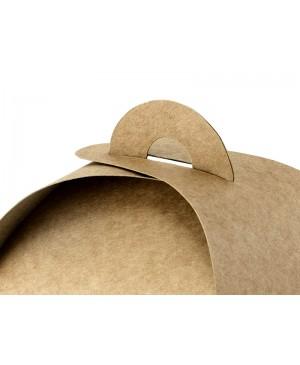 Popierinės kraft dėžutės pakavimui, 8,5x8,5x7cm 10 vnt.