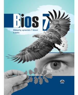 Bios 7. Biologijos užduočių sąsiuvinis VII klasei, 2 dalis