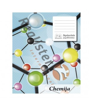 Sąsiuvinis pagalbininkas chemijai langeliais, 32 lapų
