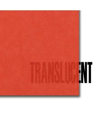 Spalvotas permatomas popierius Curious Translucent, Flame, 100 g/m², A4, 1 lapas