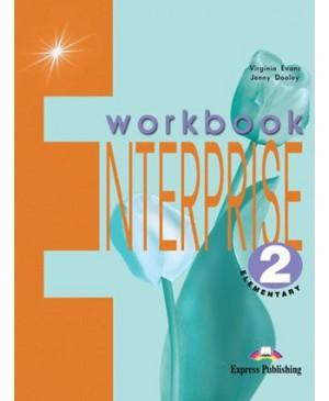 Enterprise 2. Workbook. Elementary. Anglų kalbos pratybų sąsiuvinis