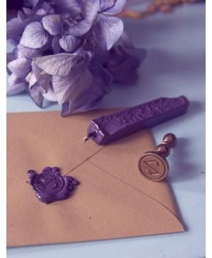 Vaškas antspaudams Manuscript, perlamutro violetinės sp., 1vnt.