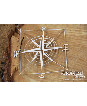 Kartono formelė Travel The World - Compass