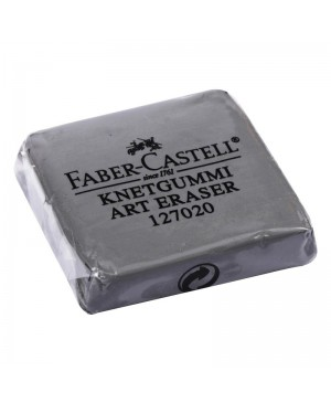 Trintukas minkomas pastelei Faber Castell Art, minkštas, pilkos spalvos, su dėžute