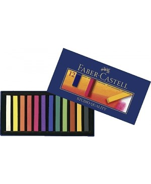 Pastelė Faber-Castel, 12 spalvų
