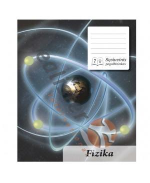 Sąsiuvinis pagalbininkas fizikai langeliais, 32 lapų