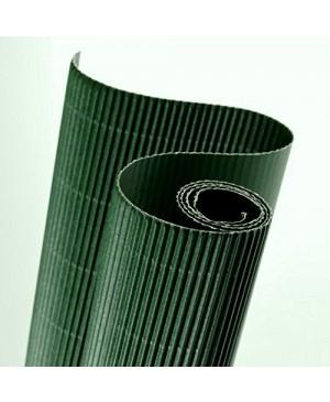 Gofruotas kartonas  50x70cm (29), tamsiai žalia sp.