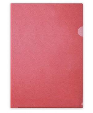 Aplankas dokumentams Forpus, A4, matinis raudonas, 115 mkr, L formos