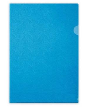 Aplankas dokumentams Forpus, A4, matinis mėlynas, 115 mkr, L formos