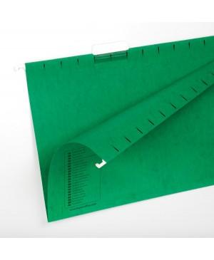 Kartotekinis vokas Forpus A4, žalias