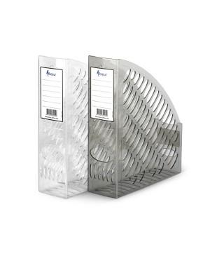 Vertikalus stovas dokumentams, A4, dūminis