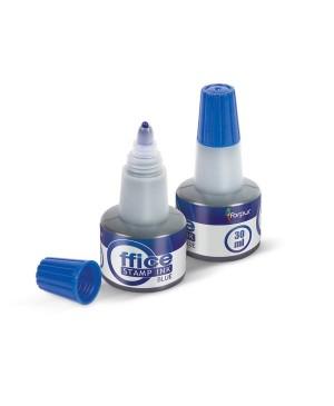Tušas antspaudams mėlynas 30 ml