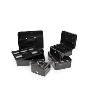 Pinigų dėžutė Forpus, juoda, 250 x 170 x 75 mm